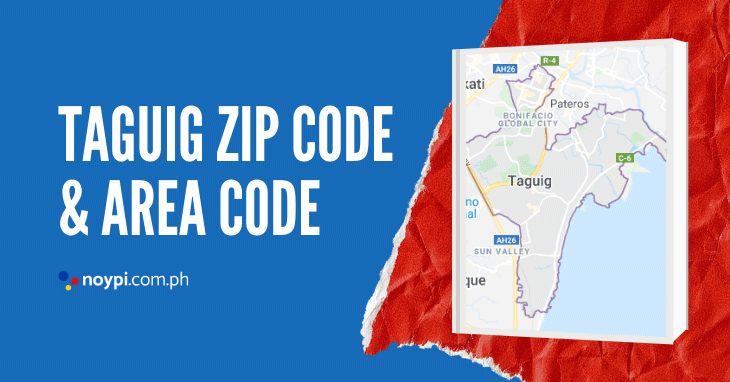 Taguig Zip Code and Area Code