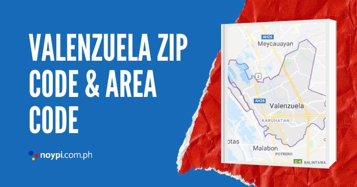 Valenzuela Zip Code and Area Code