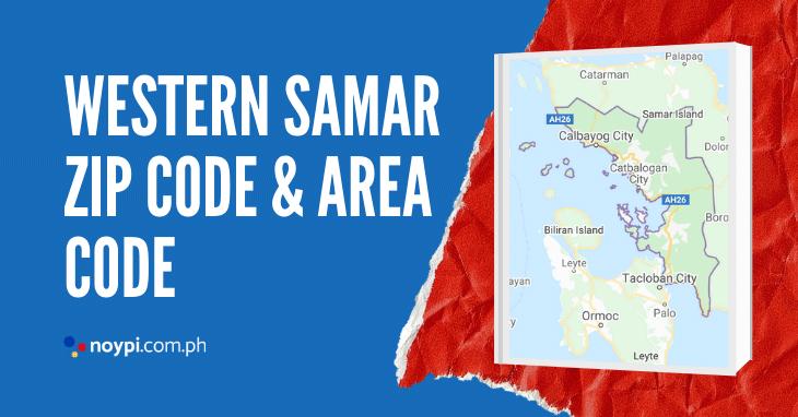 Western Samar Zip Code and Area Code