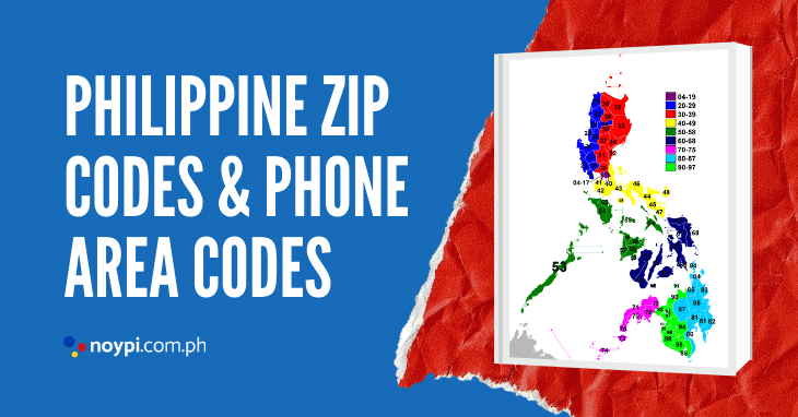 Philippine ZIP Codes and Phone Area Codes (Complete List)